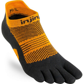 Injinji Run Lightweight No Show Socks Women, tiger